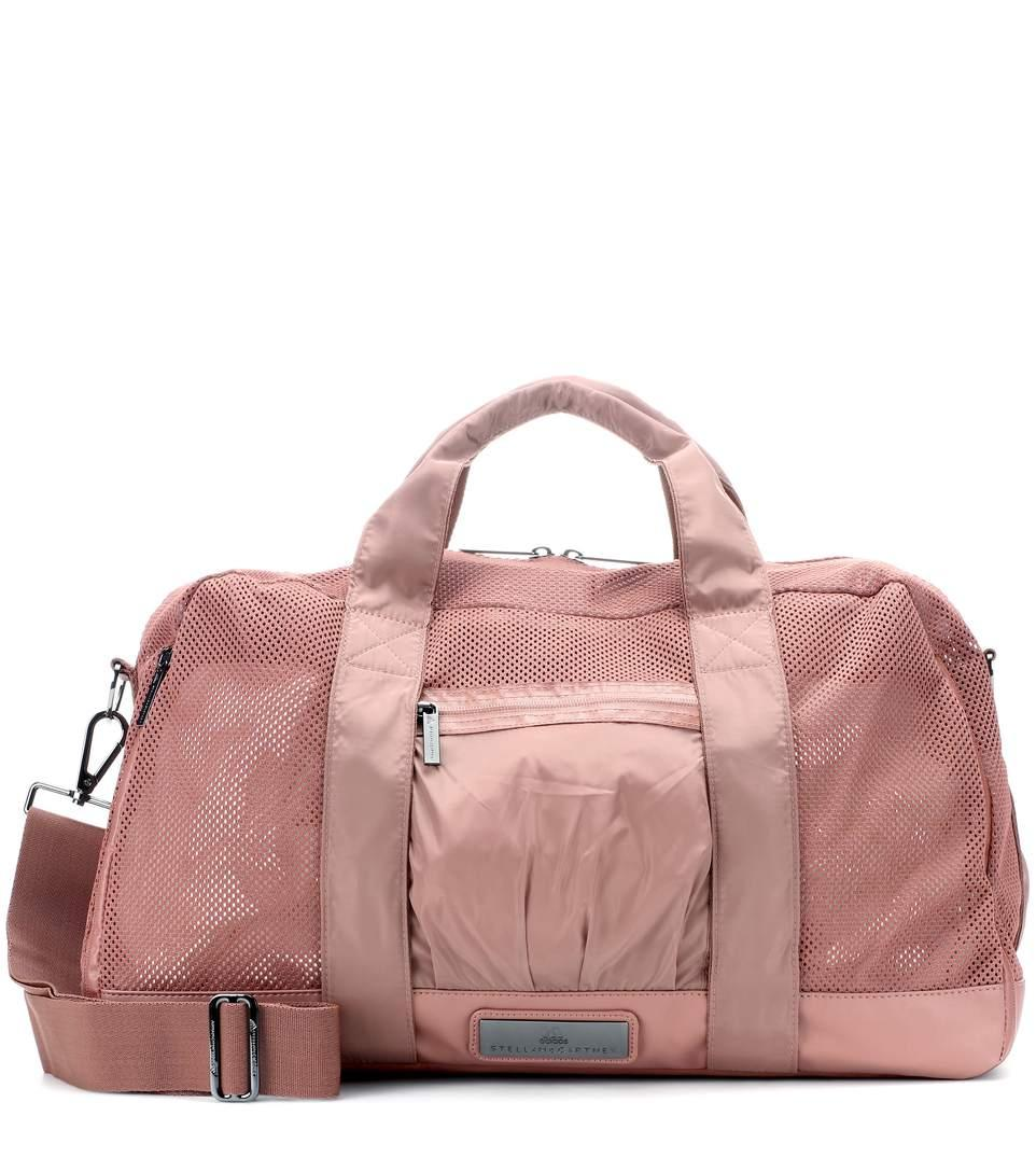 65cd8536a1ea Adidas By Stella Mccartney Yoga Gym Bag In Pink