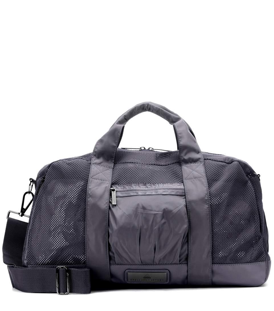 Adidas By Stella Mccartney Yoga Gym Bag In Grey