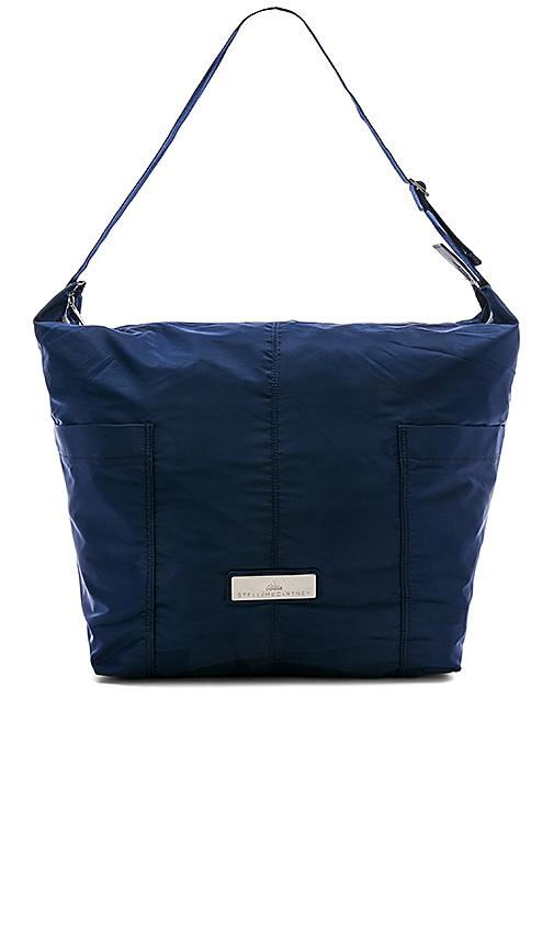 Adidas By Stella Mccartney Essentials Sports Hobo In Blue