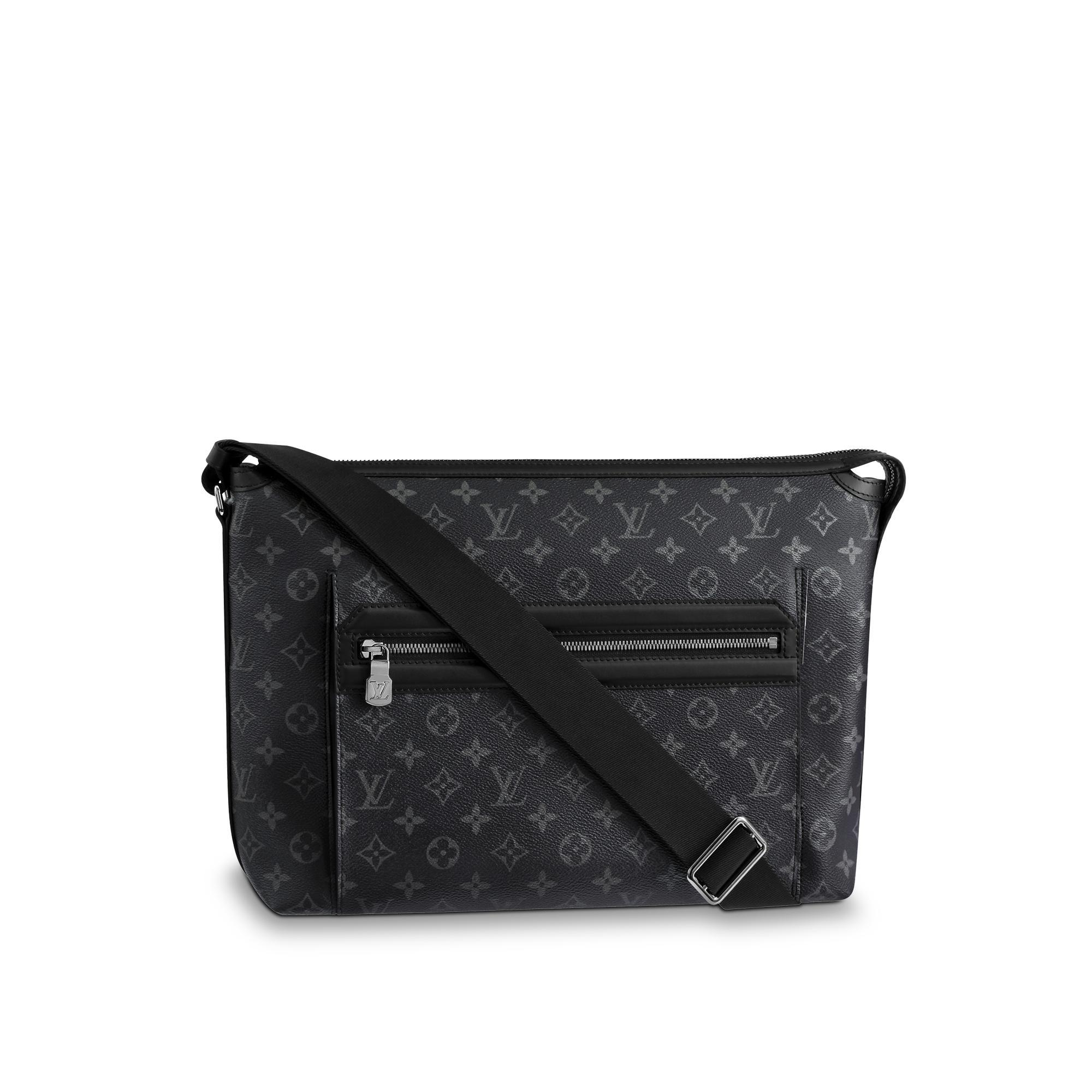 a542664e7863a ... Damier graphite N41211 Black Shoulder bag Messenger bag Men  Used  Louis  Vuitton Odyssey Messenger Mm ...