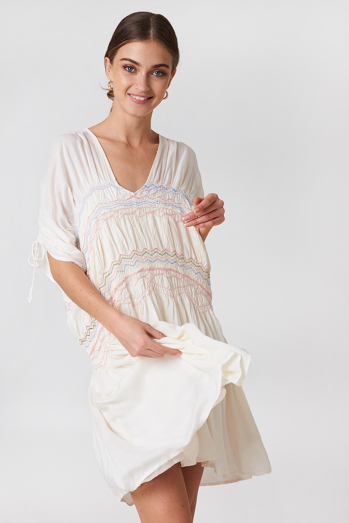 Free People Love Of The Run Midi Dress - White