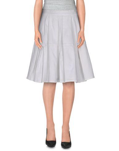 Red Valentino Knee Length Skirt In White