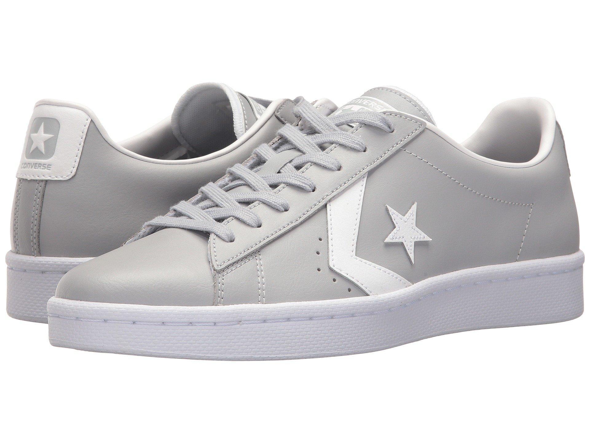 Converse Pl 76 - Ox In Wolf Grey/white/white   ModeSens