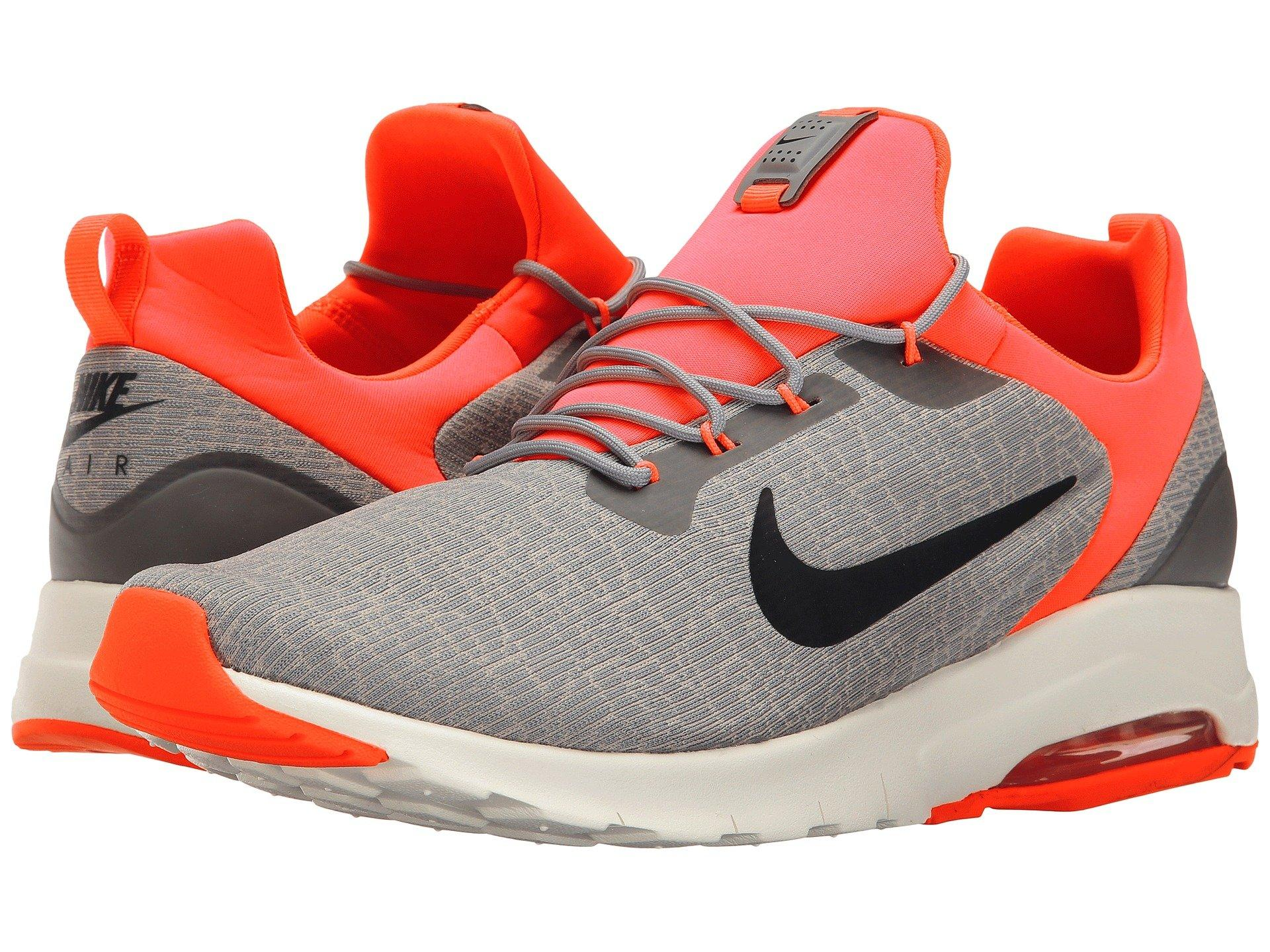 differently 59124 b879d Nike Air Max Motion Racer, Dust Black Cobblestone Solar Red