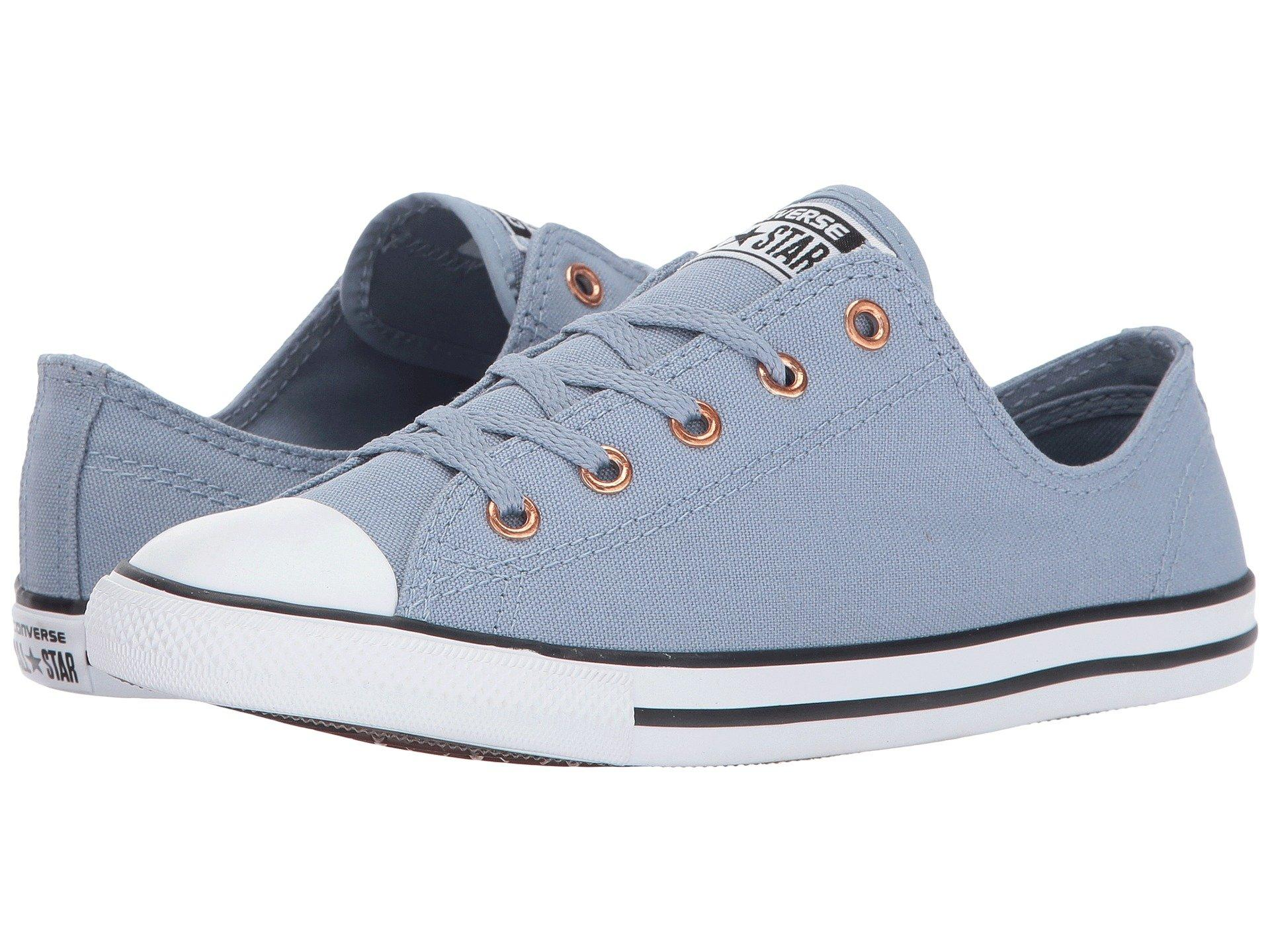 9c5c63868f01 Converse Chuck Taylor All Star Dainty - Ox In Blue Slate White Gold ...