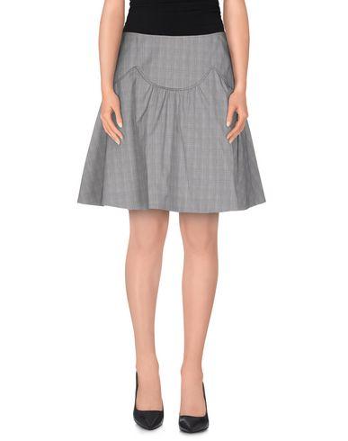 Red Valentino Knee Length Skirt In Grey