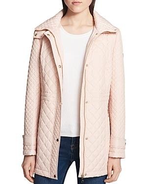 Calvin Klein Diamond-Quilted Jacket In Blush