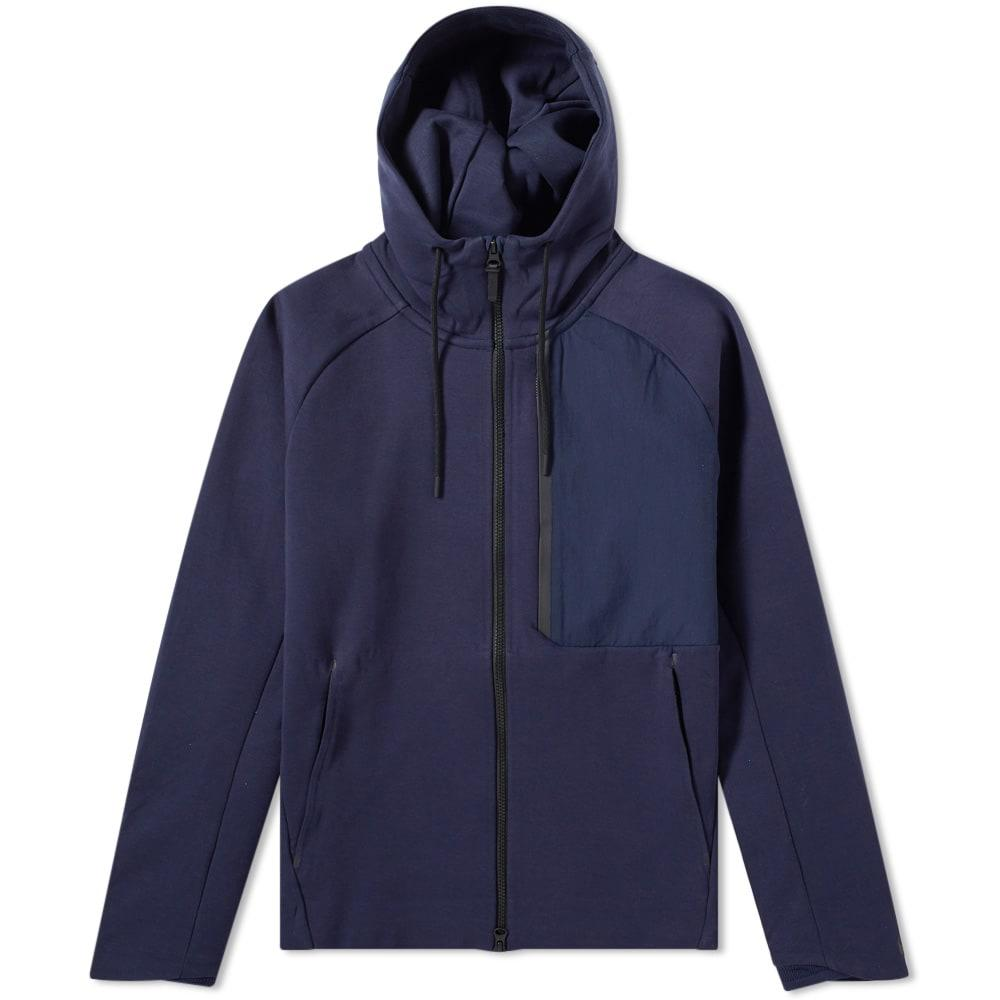 Nike Tech Fleece Jacket In Blue Modesens
