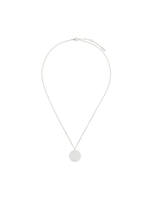 Astley Clarke Mille Pendant Necklace In Metallic
