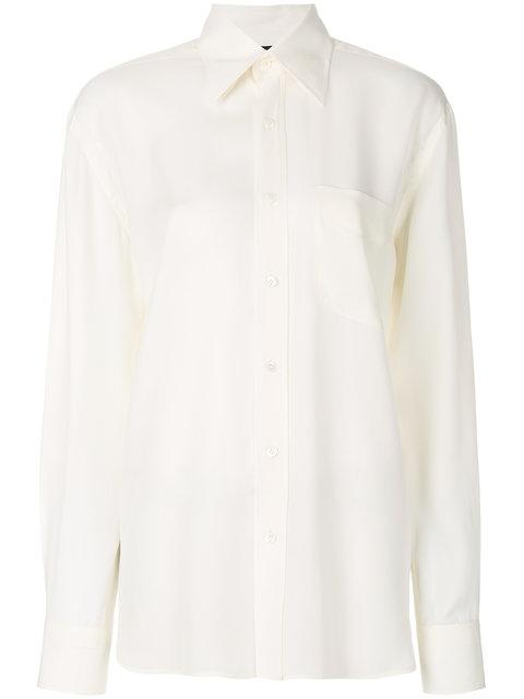 Tom Ford Crepe Shirt - Neutrals