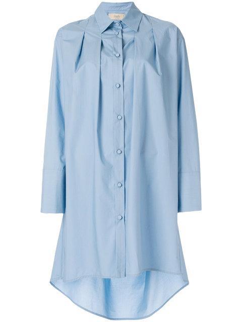 Maison Flaneur Oversized Long Shirt