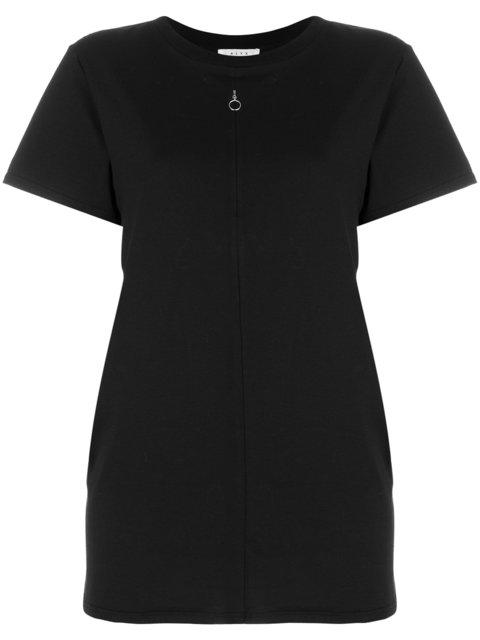 Alyx Invisible Zip T-shirt In Black