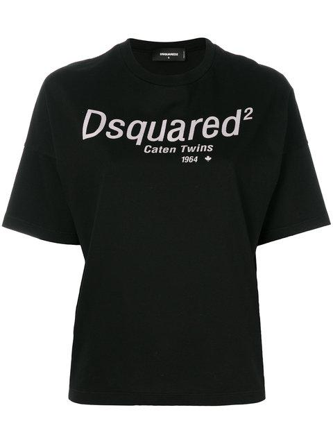 Dsquared2 Logo T-shirt - Black
