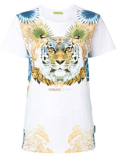 Versace Jeans Tiger Print T