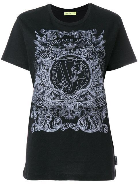 Versace Jeans Logo Print T