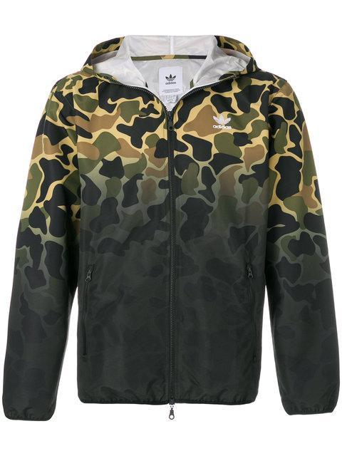 Adidas Originals Camo Windbreaker Jacket