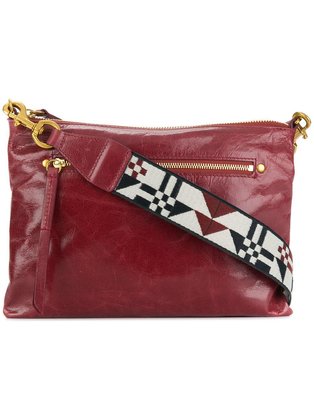 Isabel Marant Navajo Shoulder Strap Bag In Red