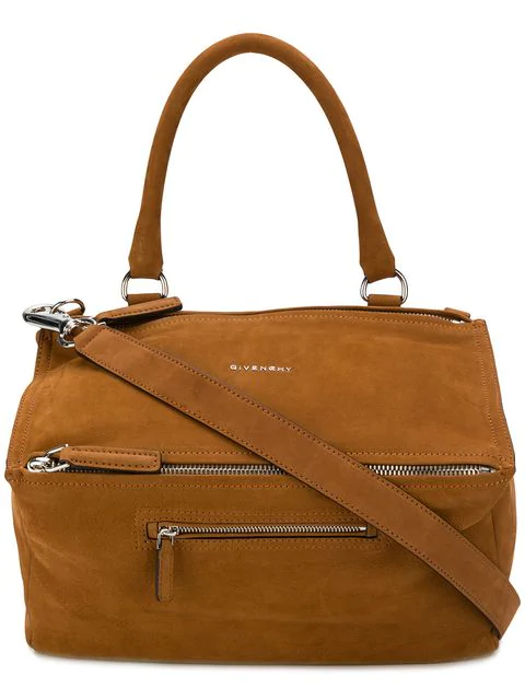 Givenchy Medium Pandora Shoulder Bag - Brown