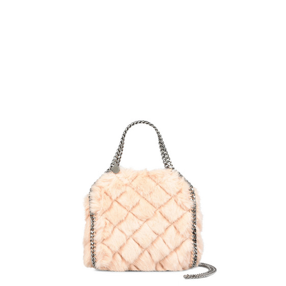 7d4c14434c3d Stella Mccartney Medium Perforated Logo Faux Leather Tote - Pink In ...