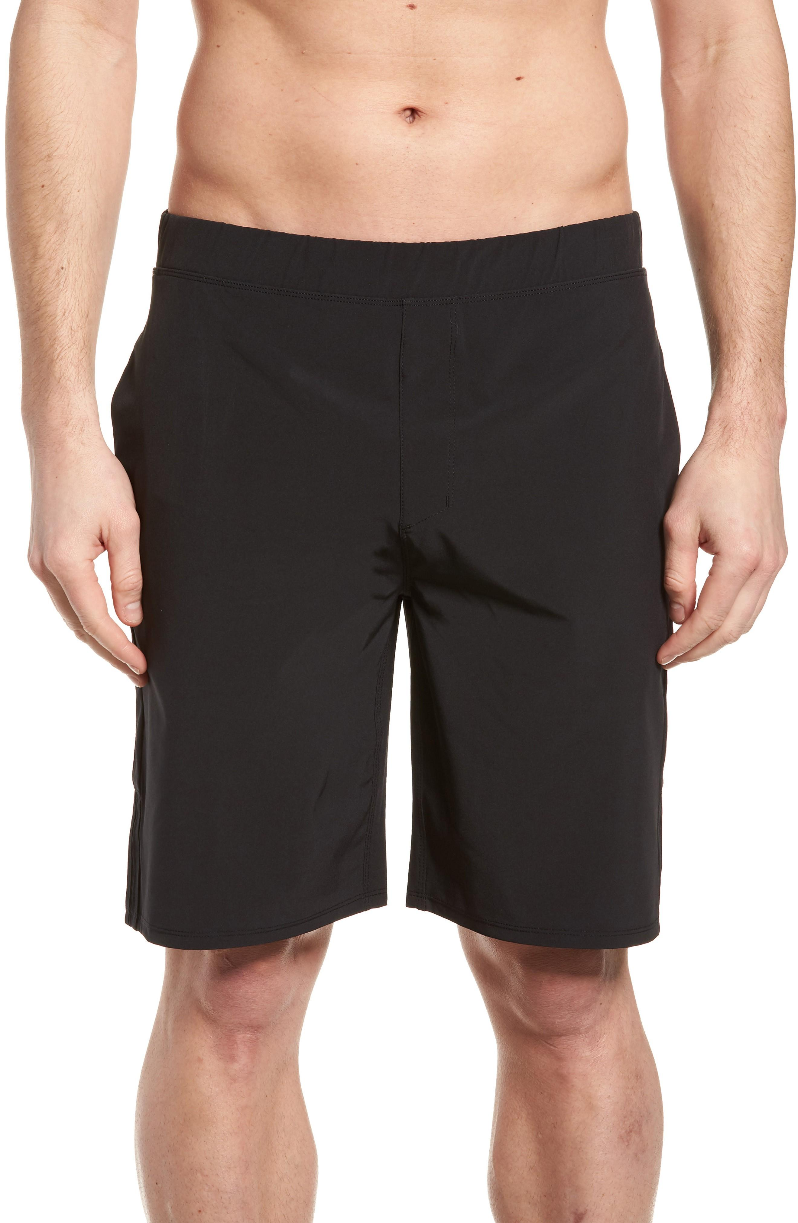 Hurley Alpha Trainer 2.0 Shorts In Black