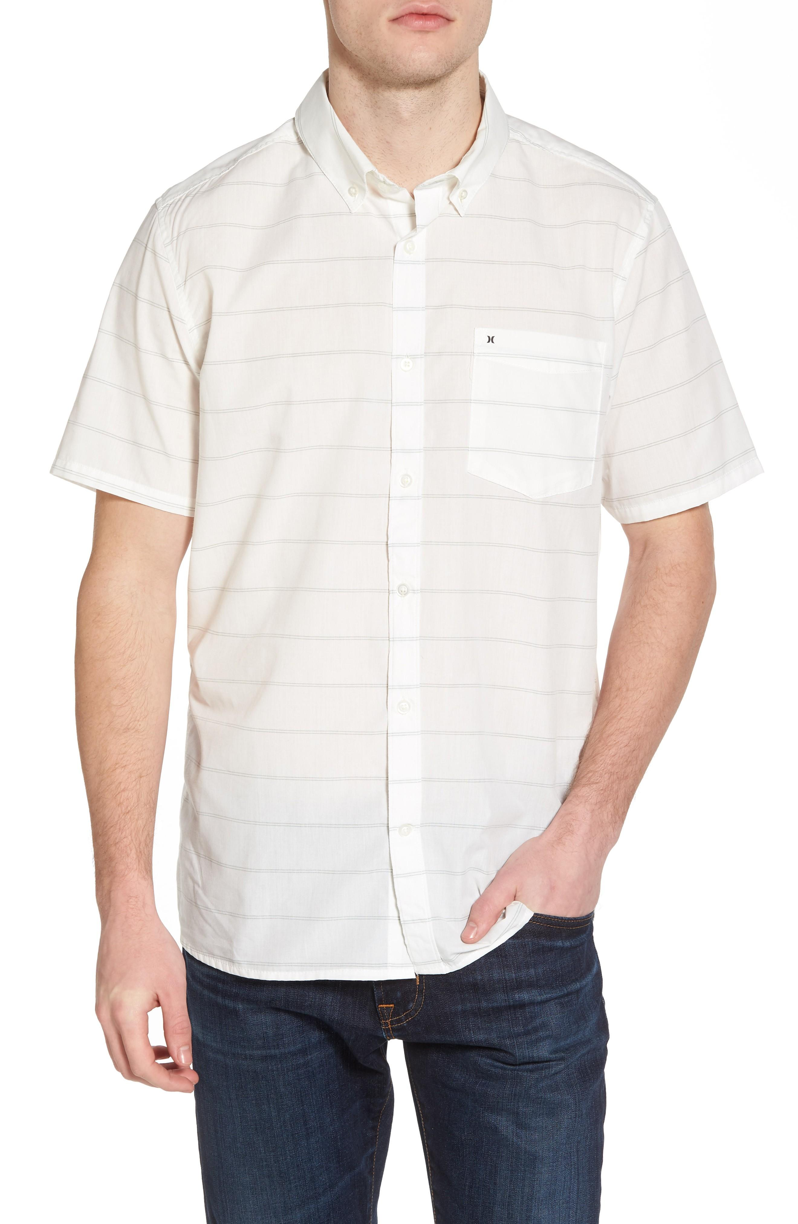 Hurley Reeder Dry Woven Shirt In Sail