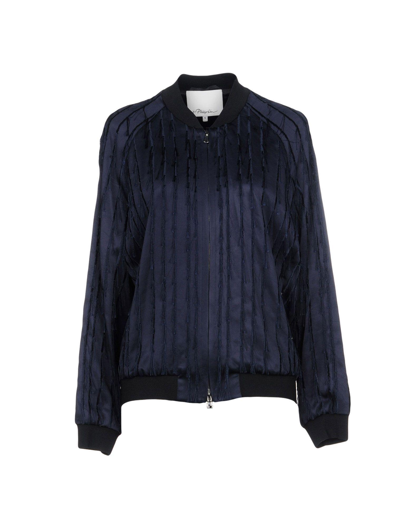 3.1 Phillip Lim Jacket In Dark Blue