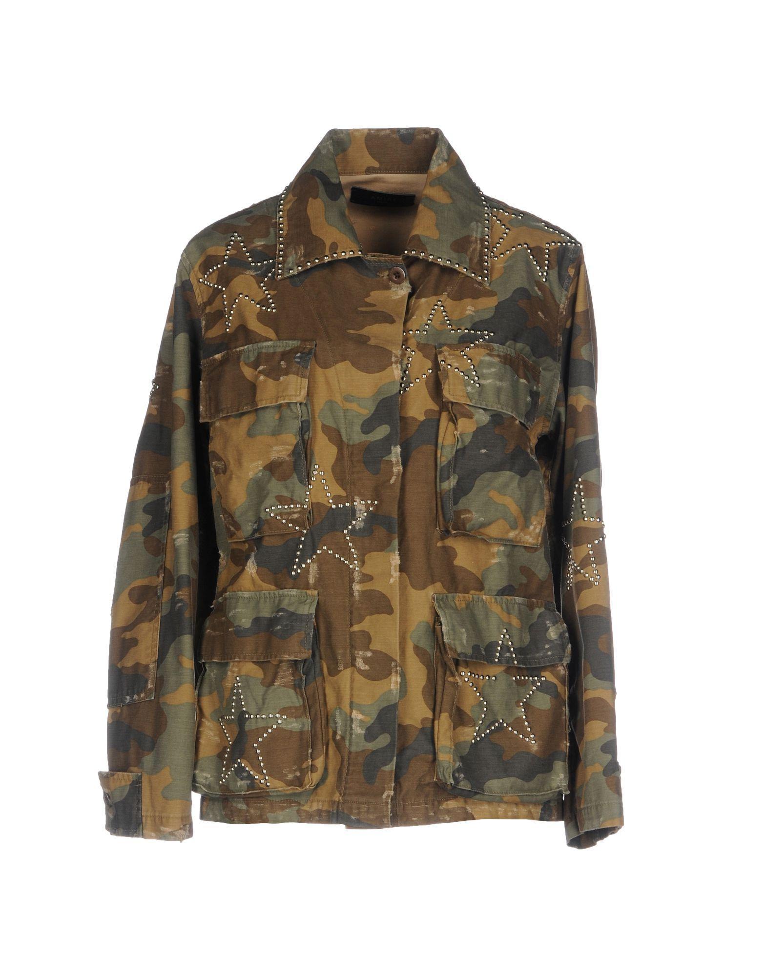 Amiri Jackets In Military Green