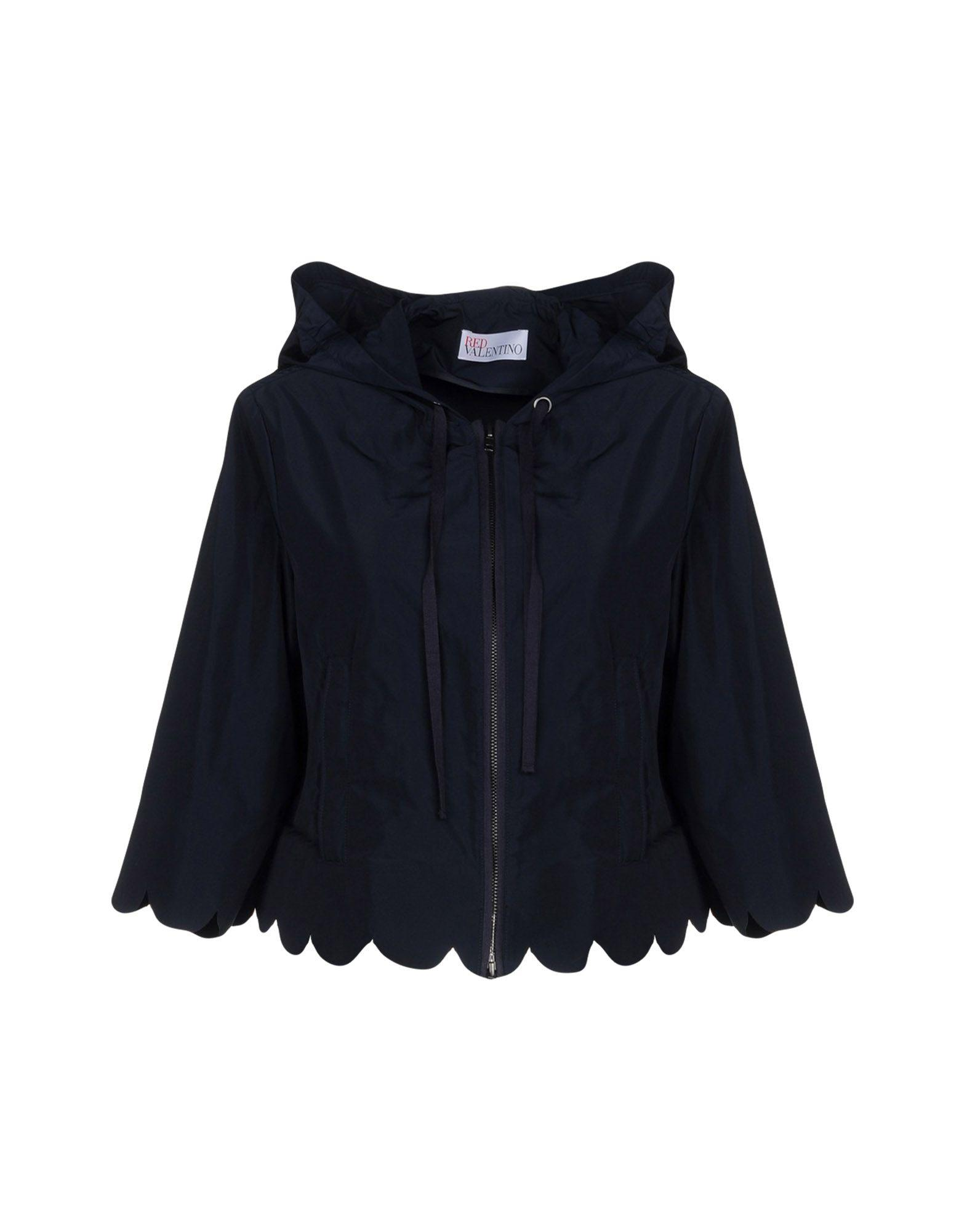 Red Valentino Jackets In Dark Blue