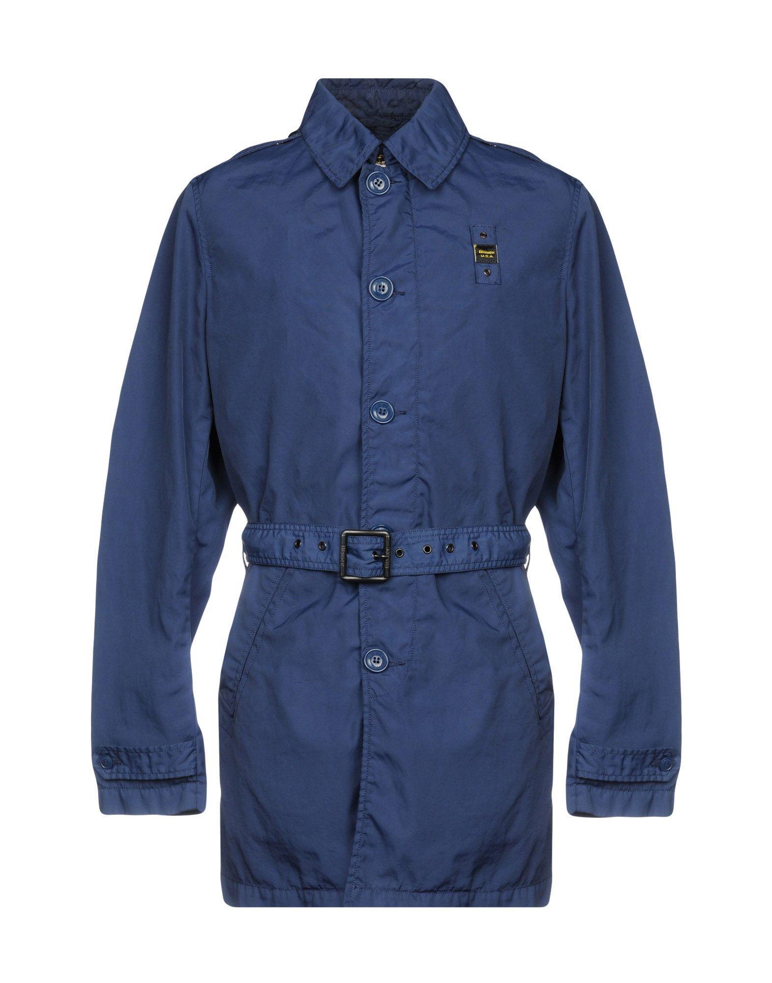 Blauer Overcoats In Dark Blue
