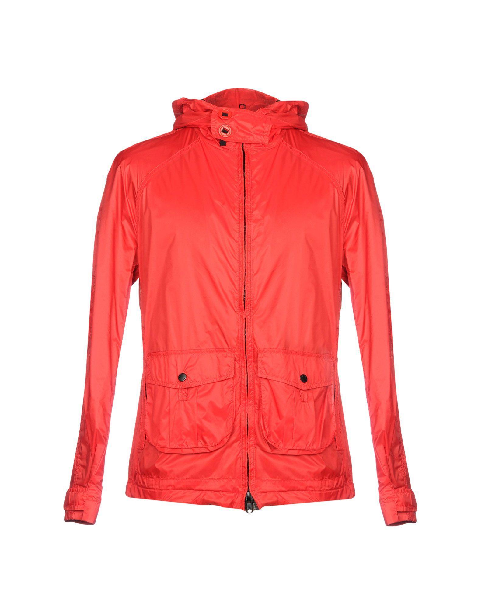 Blauer Jackets In Red