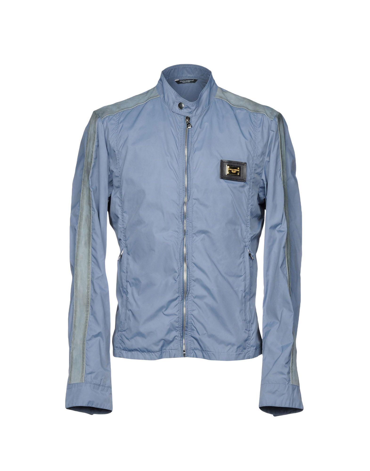 Dolce & Gabbana Jackets In Pastel Blue