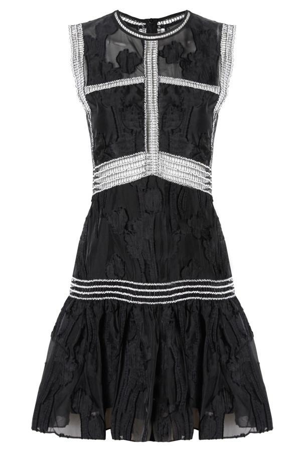 Alexis Rajani Dress In Black