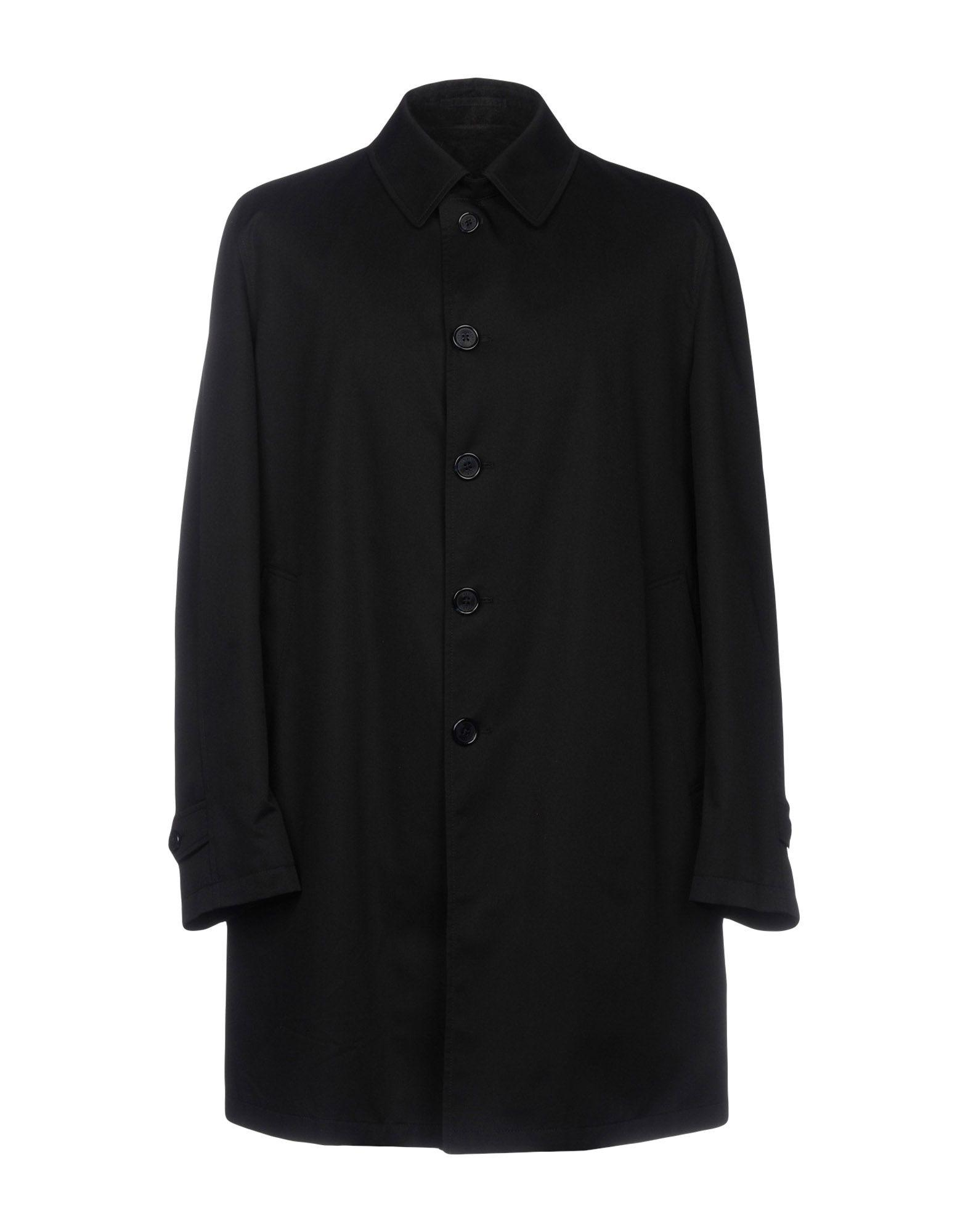 Herno Overcoats In Black