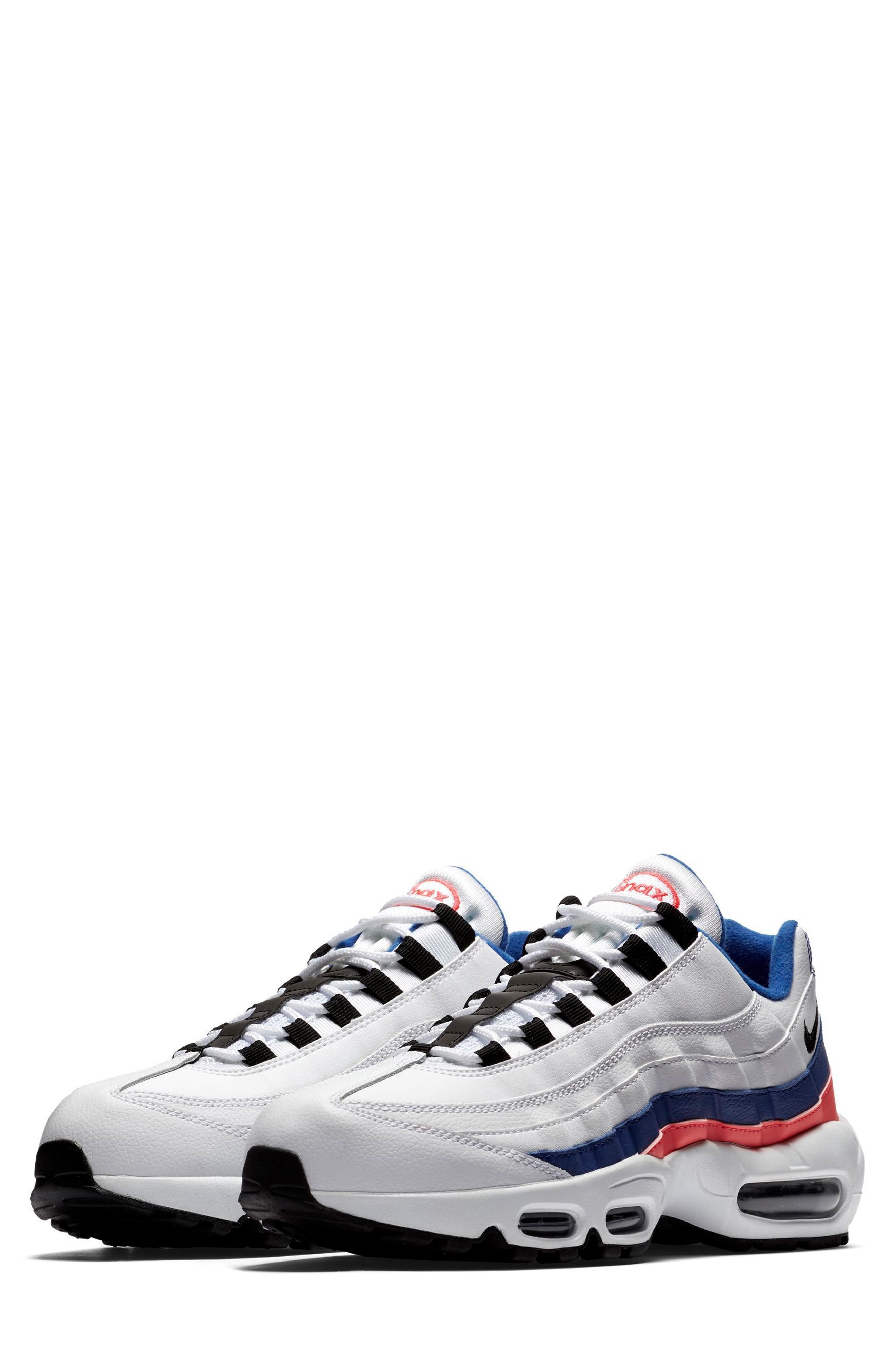 best service 612e2 cef51 Men's Air Max 95 Essential Running Shoes, White