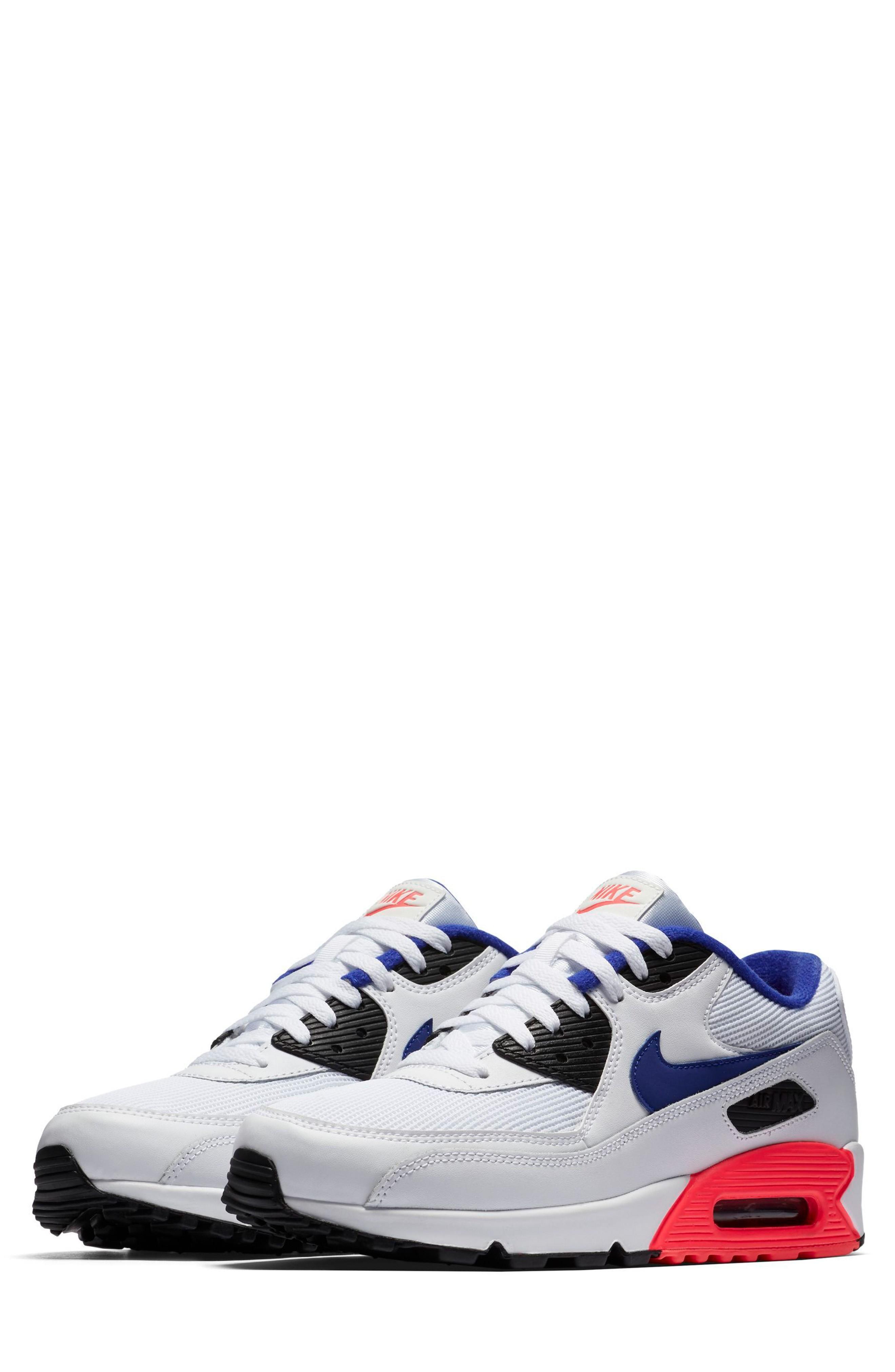 Men'S Air Max 90 Essential Casual Shoes, White