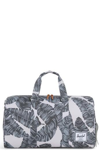 637835fd253 Herschel Supply Co.  Novel  Duffel Bag - Green In Silver Birch Palm ...