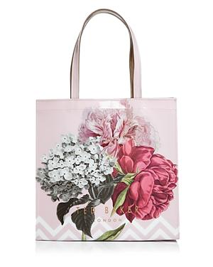 Ted Baker Palace Gardens Large Icon Tote - Pink In Dusky Pink