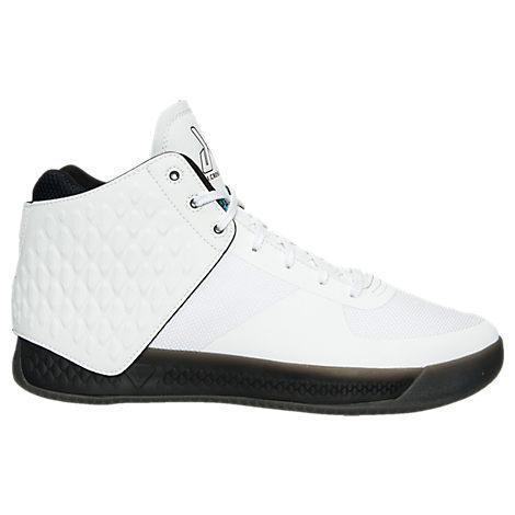 Brandblack Men's  J. Crossover 3 Basketball Shoes, White