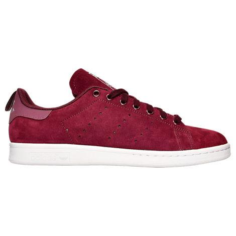 Adidas Originals Men's Originals Stan Smith Suede Casual Shoes, Red