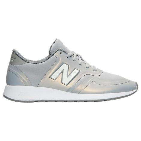 New Balance Women's 420 Iridescent Casual Shoes, Grey