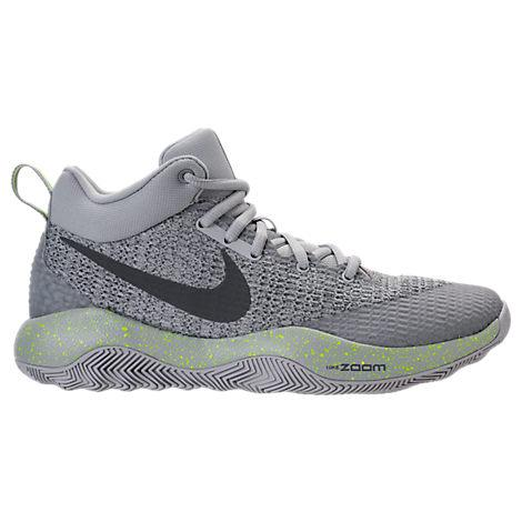 Nike Men's Zoom Hyperrev 2017 Basketball Shoes, Grey