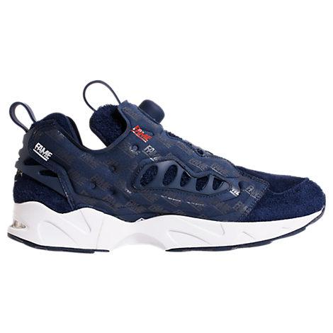 Reebok Men's X Hall Of Fame Instapump Fury Casual Shoes, Blue