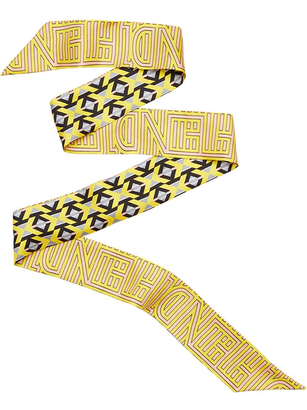 Fendi Stripy Wrappy - Yellow