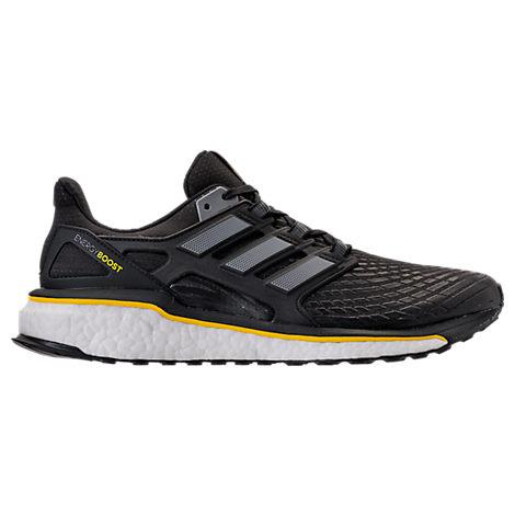 Adidas Originals Adidas Men's Energy Boost Running Sneakers From Finish Line In Black