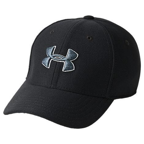 Under Armour Men's Blitzing 3.0 Fitted Hat, Black