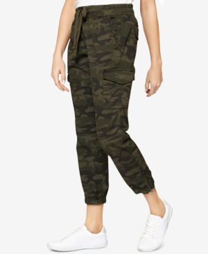 Sanctuary Camo-print Cargo Jogger Pants In Mother Nature Camo