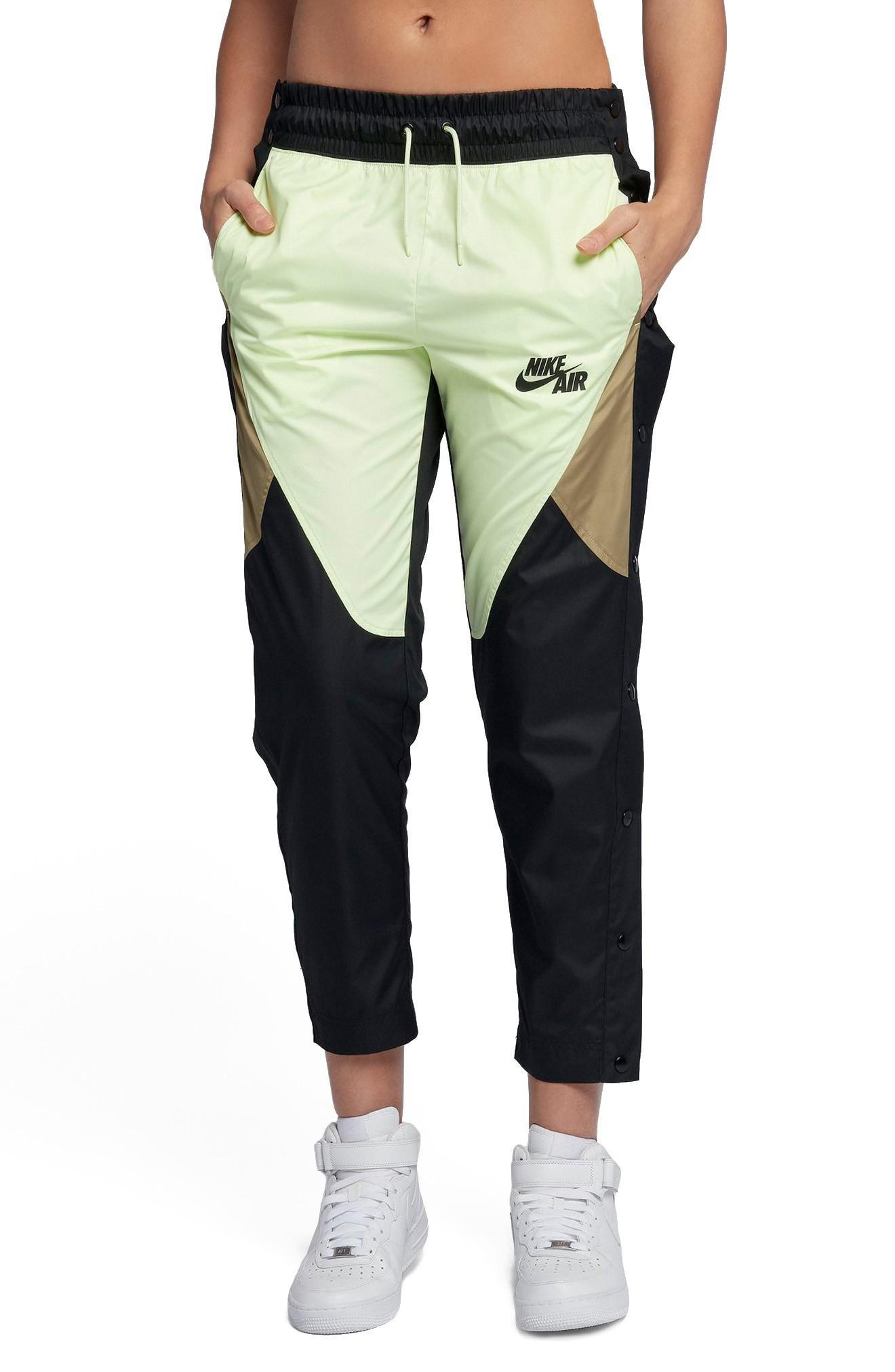 Nike Sportswear Tearaway Woven Pants In Black/black