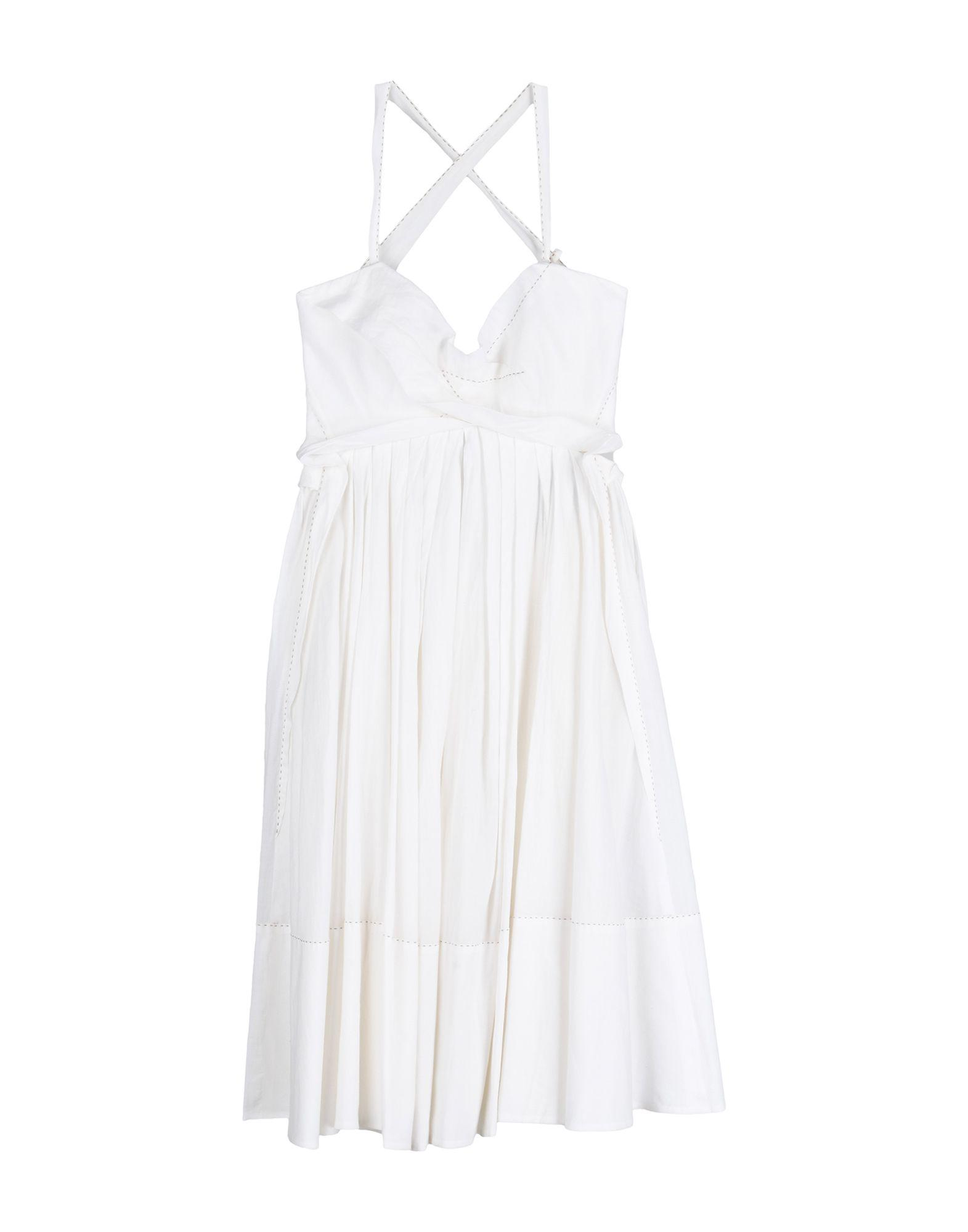 Donna Karan Collection Formal Dress In White