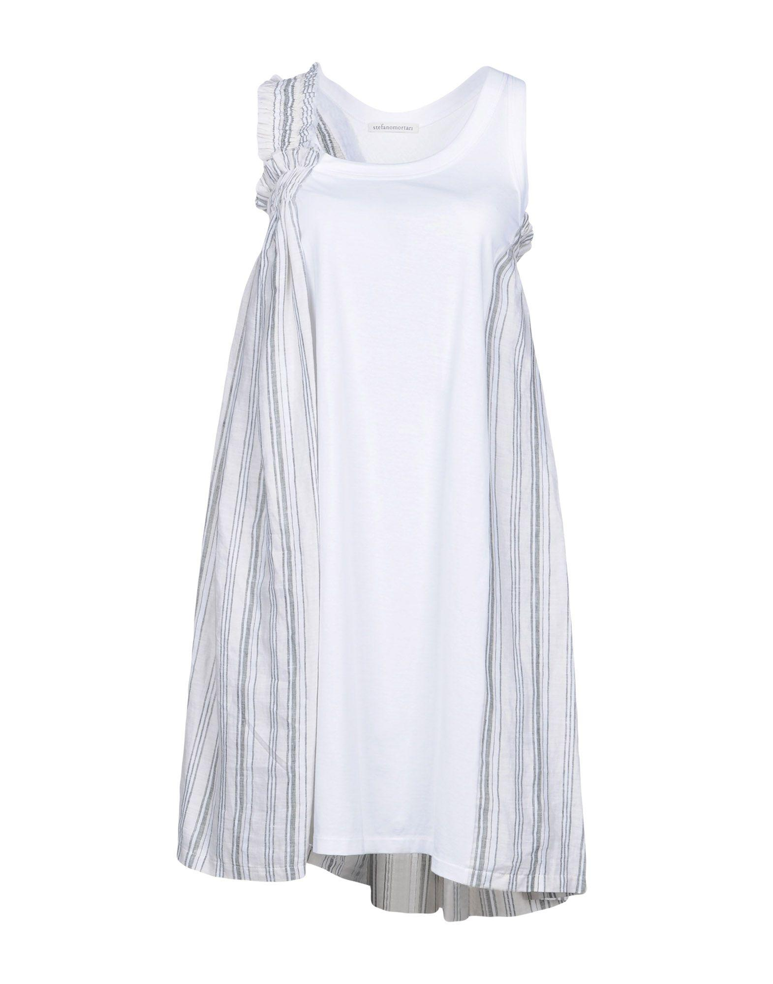 Stefano Mortari Knee-length Dress In White