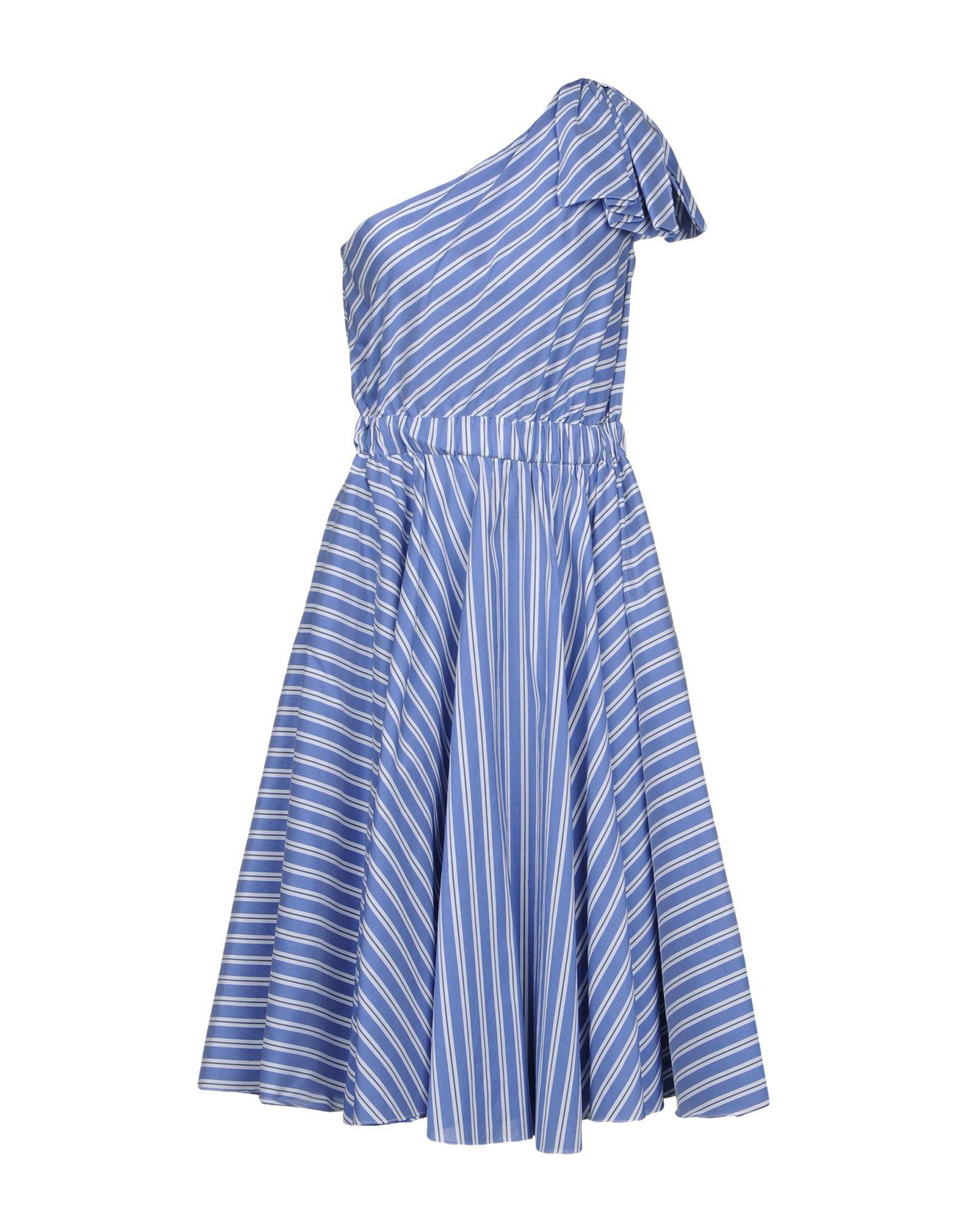 Milly Knee-length Dresses In Blue